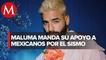 Maluma dedica mensaje a México tras sismo