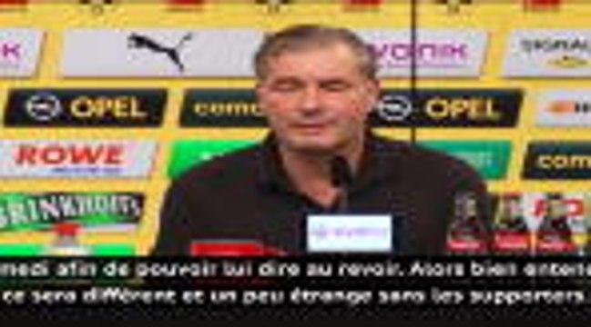 """Transferts - Zorc sur le départ de Gotze : """"Lui offrir un bel adieu, même sans supporters"""""""