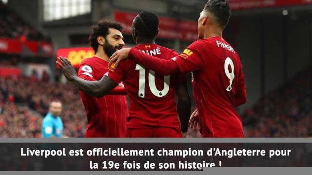 1e j. - Liverpool champion, enfin !