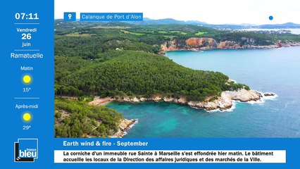 La matinale de France Bleu Provence du 26/06/2020