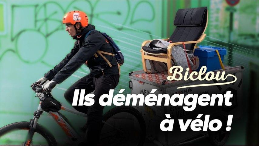 Déménager à vélo à Paris, c'est possible