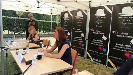 Sophie Wilmès à Lessines