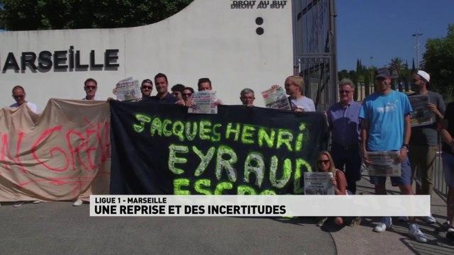 Marseille une reprise et des incertitudes sur les investissements dans le club