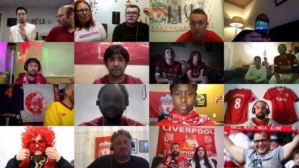 Liverpool Taraftarlarının Şampiyonluk Sevinci!