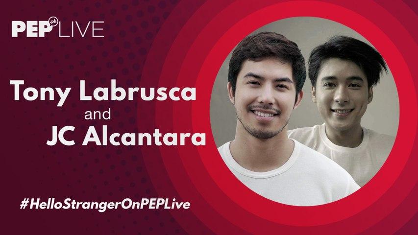 Tony Labrusca JC Alcantara, nag-boy love sa Hello Stranger | PEP Live