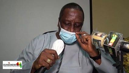 Guinée : le ministre sortant de la Fonction Publique Bily Nankouma Doumbouya dresse son bilan à tête du département
