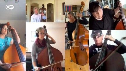 Orquestra online une mais de mil músicos de 44 países