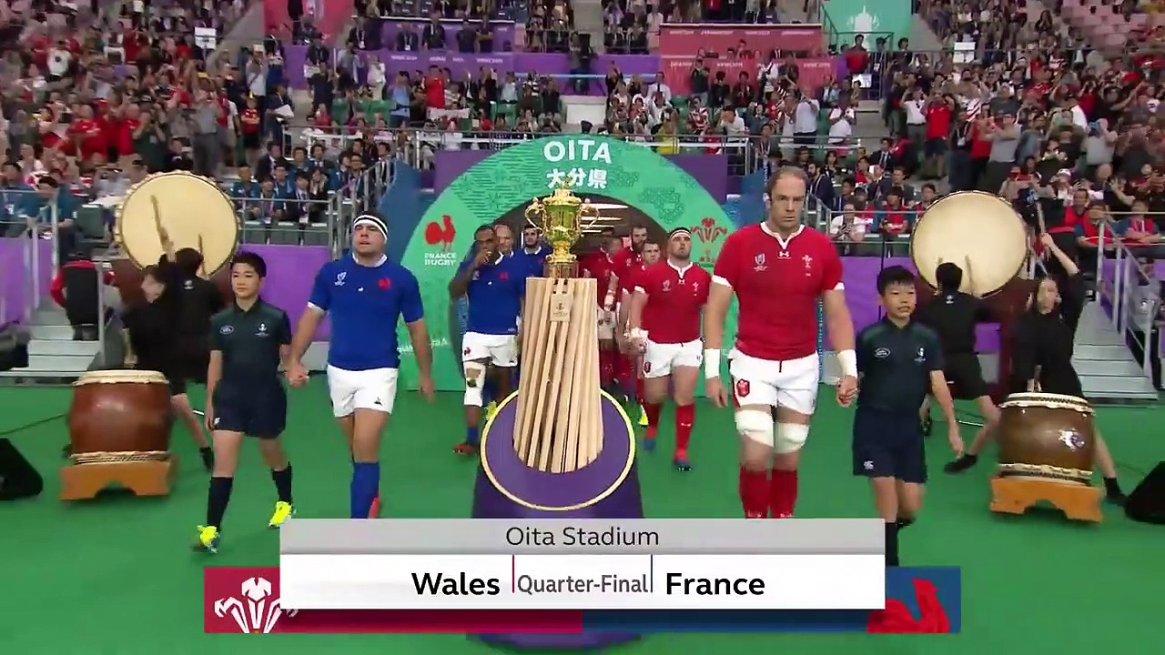 Extended Highlights  Wales 20-19 France – Rugby World Cup 2019