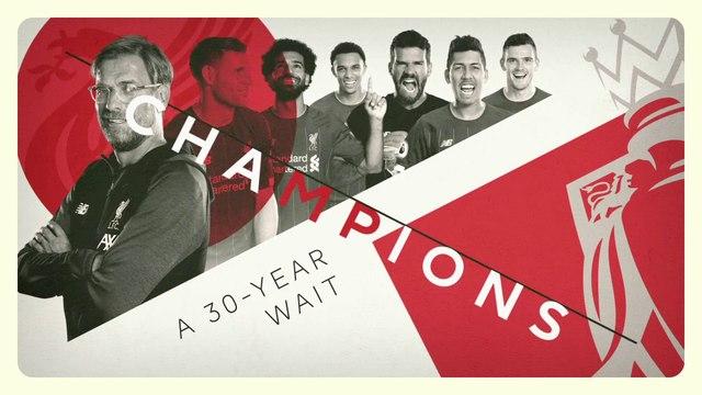 Liverpool, 30 ans d'attente !