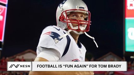 "Football is ""Fun Again"" for Buccaneers QB Tom Brady"