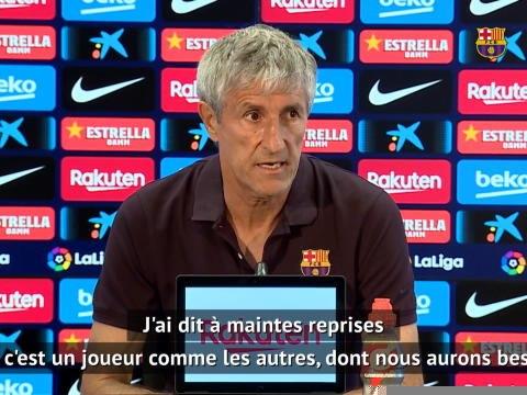 """Barcelone - Setien """"compte encore"""" sur Arthur"""