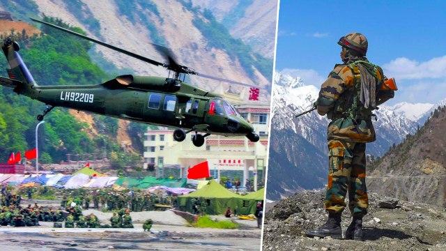 India China Border ஆன Ladakh-க்கை சுற்றி வளைக்கிறதா China? | New Helipad