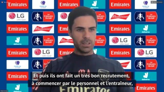"""Arsenal - Arteta : """"Liverpool a une philosophie très claire"""""""
