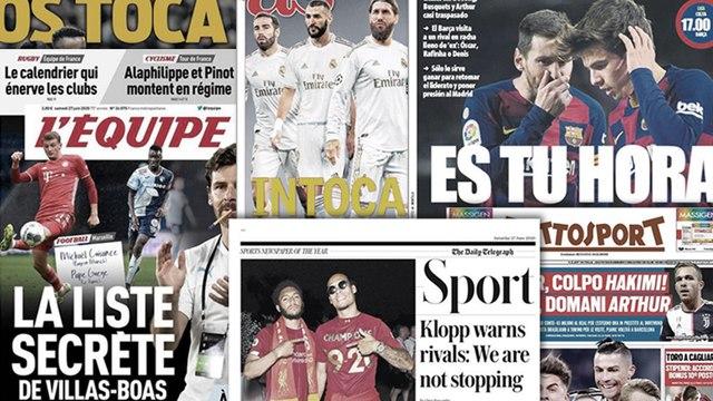 L'annonce forte de Jürgen Klopp pour l'avenir de Liverpool, les intouchables du Real Madrid