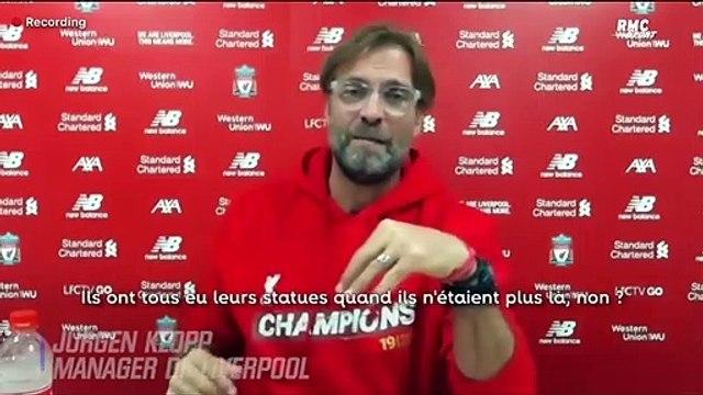 """Liverpool : """"Les statues ne m'intéressent pas"""", Klopp répond à Gerrard"""