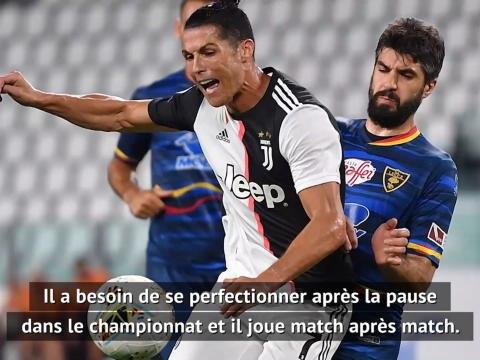 """Juventus - Sarri : """"A l'avenir, nous trouverons un moyen de préserver Cristiano sur certaines rencontres"""""""