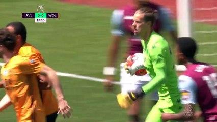 Aston Villa - Wolves (0-1) - Maç Özeti - Premier League 2019/20
