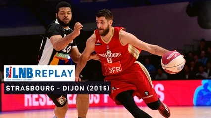 Replay : SIG Strasbourg - JDA Dijon (1/2 Leaders Cup 2015)