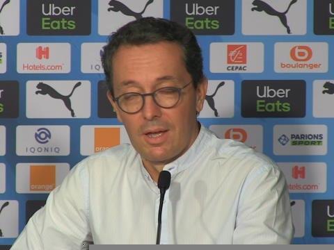 """OM - Eyraud : """"Le club n'est pas à vendre"""""""