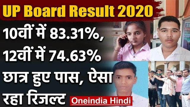 UP Board Result 2020: 10वीं में 83.31%, 12वीं में 74.63% Students हुए पास | वनइंडिाय हिंदी
