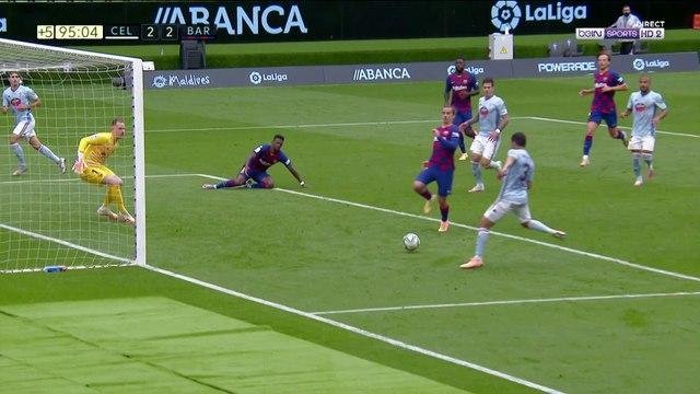 La Liga - L'énorme raté de Nolito pour crucifier le Barça !