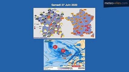 Bulletin Météo du 27 06 2020