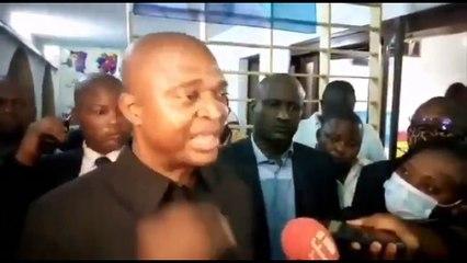 Le VPM Tunda Ya Kasende vient d'être libéré après une audition