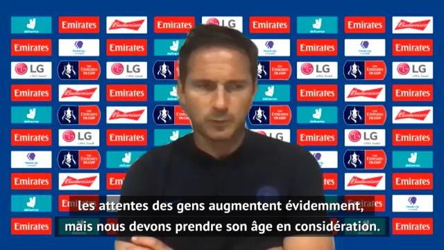 """Quart - Lampard : """" Pulisic a les capacités de joueurs comme Sterling, Salah, Mané"""""""