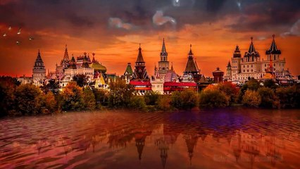 Kremlin of Izmailovo in Moscow  | ASMR  | Travels in the World