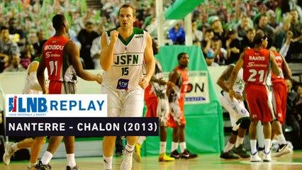 Replay : Nanterre VS Chalon (1/2 retour Playoffs 2013)