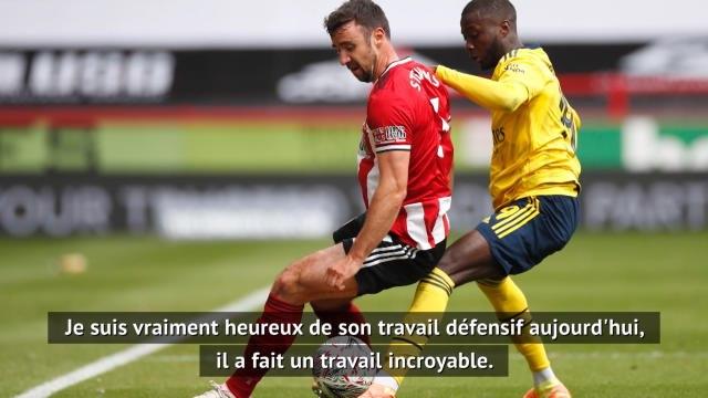 """Arsenal - Arteta : """"Pépé a pris conscience de ce qu'il doit faire pour l'équipe"""""""