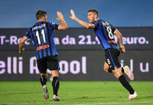 Serie A : Nouveau festival pour l'Atalanta qui presse l'Inter