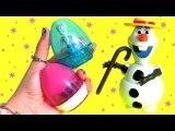 Easter Eggs Transforming Toys Anna Elsa Olaf MyLittlePony Kinder Surprise Disney