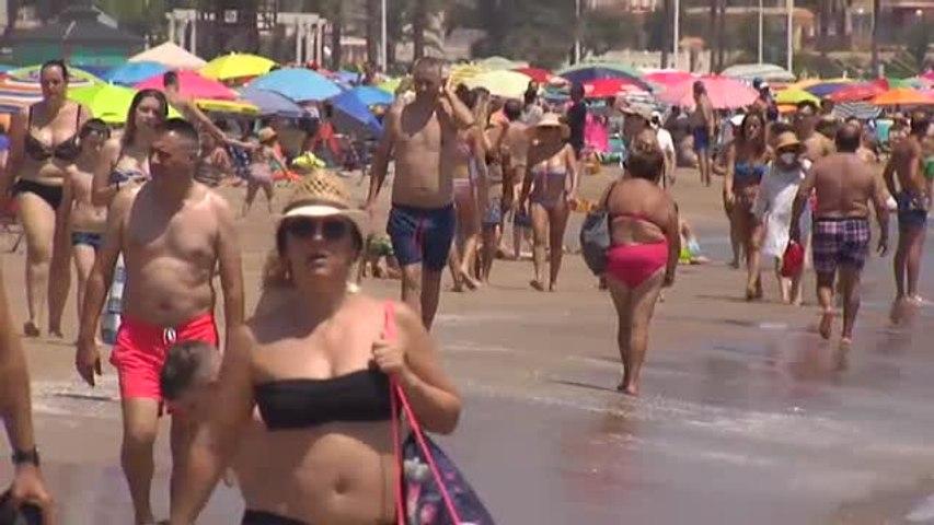 Lleno en las playas durante el fin de semana | Godialy.com