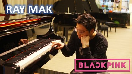 BLACKPINK - How You Like That Piano by Ray Mak