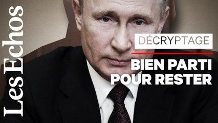 Comment Poutine a organisé son maintien au pouvoir jusqu'en 2036