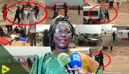 Amsatou Sow Sidibe : Ce qu'on a vu à Gadaye , c'est un scandale ...
