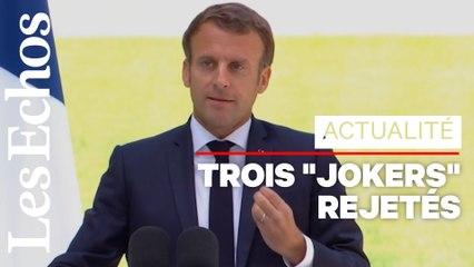 Convention citoyenne pour le climat : ce qu'il faut retenir de l'intervention de Macron