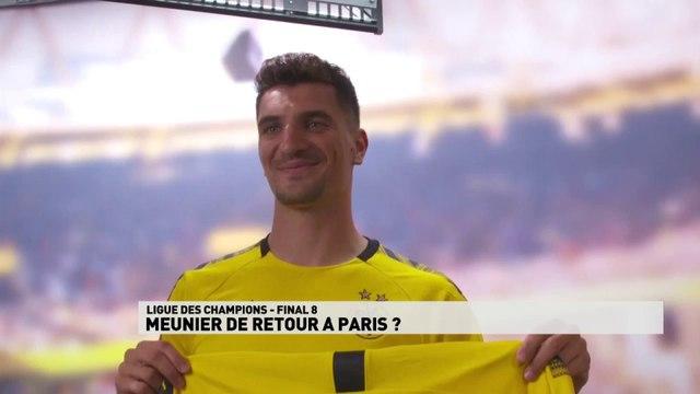 Dortmund prêt à laisser Thomas Meunier rejouer avec le PSG en Ligue des champions