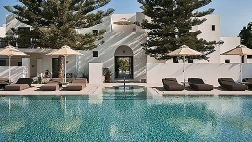 The most beautiful design hotels in Greece
