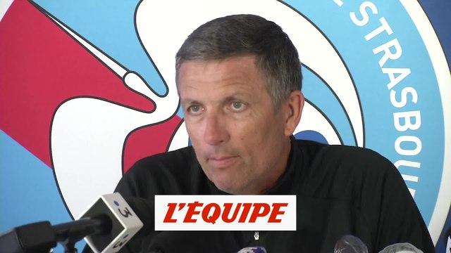 Laurey : «J'aurais aimé finir la saison mais pas à n'importe quel prix» - Foot - L1 - Strasbourg