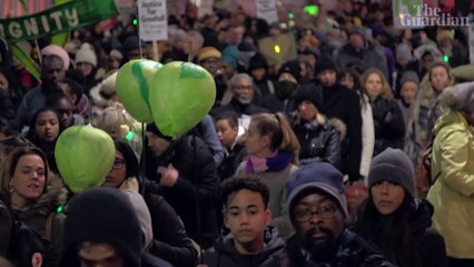 'It fits at the heart of Black Lives Matter': Grenfell survivors three years on - video
