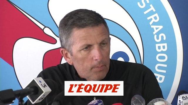 Laurey : «Je ne semble pas malheureux, non?» - Foot - L1 - Strasbourg