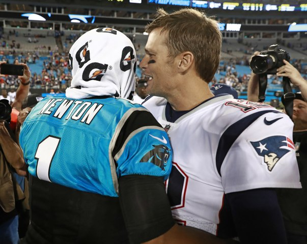 Patriots News: Tom Brady Reacts to Cam Newton Signing With Patriots