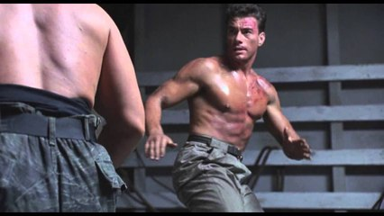 Double Impact - Fight Scene - Jean-Claude Van Damme vs Bolo