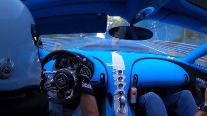 Bugatti Chiron Pur Spor - Séances finales de maniabilité sur la Nordschleife