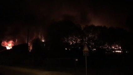 Un incendie ravage la briqueterie à Arlon