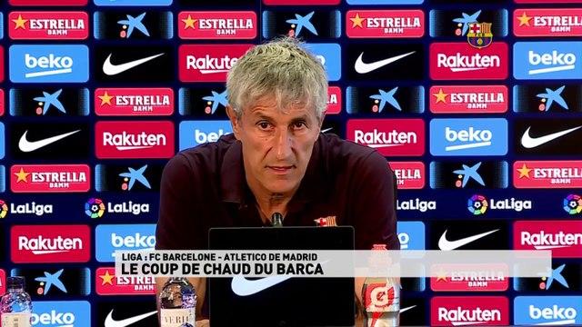Le coup du chaud du Barça avant son match contre l'Atletico de Madrid
