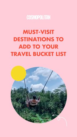 Must-Visit Destinations To Add To Your Travel Bucket List