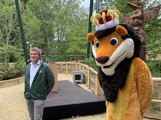 Bellewaerde - inauguration de l'attraction WAKALA